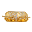 Silver & Gold Plated Shell Shaped Bowl