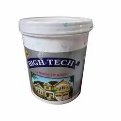 White High Tech Acrylic Exterior Emulsion Paint, Packaging Size: 20 L