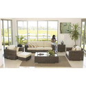 Wicker Living Room Sofa