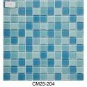 0.95 Sqft Aqua Blue Crystal Glass Mosaic Tiles