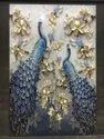 Peacock Wall Picture Tile
