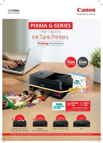 All In One Computer Printer Canon Pixma 3000 series, G3000