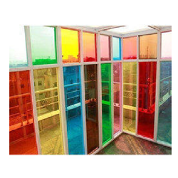 Multicolored Tinted Glass At Navi Mumbai