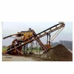Mild Steel Sand Washing Plant, Capacity: 40 TPH