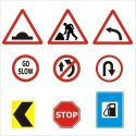 Safety Signs On The Road