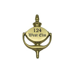Prestige Brass Door Knocker