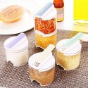 Multipurpose Creative Transparent Kitchen Spice Rack -6pcs-Stackble