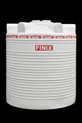 White Round PVC Water Storage Tank