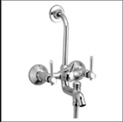 Wall Mixer 3-In-1 With L Bend Antic