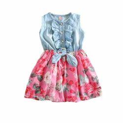 Girls Multicolor Baby Dresses