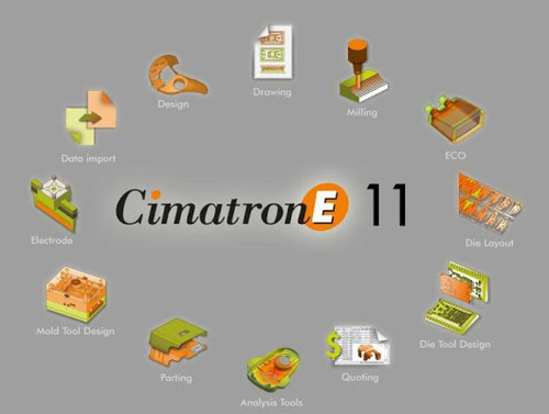CAD CAM Software - Cimatron E11 Manufacturer from Faridabad