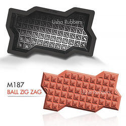 M 187 Ball Zigzag Mould