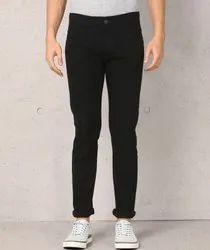 Metronaut Men Flexi Slim Black Jeans
