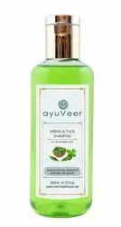 Women Ayuveer Henna & Tulsi Shampoo, Packaging Size: 200ml