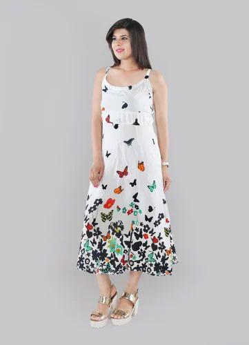 6317c50c8cf Large Printed Women's Long Midi Dress, Rs 599 /piece, Phutro Fashion ...