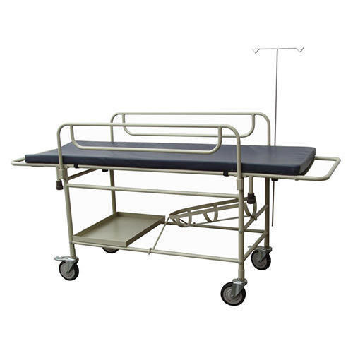 TRACK Hospital Furniture Patient Trolley, Model Name/Number: THF-050, Size: 1980x570x810 Mm