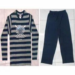 Cotton Men Nightwear Set