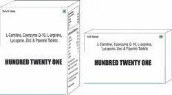 L Carnitine Coenzyme Q10 L arginine Lycopene Zinc & Piperine Tablets
