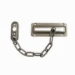 Stainless Steel Door Chain, Packaging Type: Carton Box, Chrome