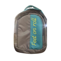 Polyester Zipper College Backpack