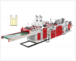 Fully Automatic Super High Speed T-Shirt Bag Making Machine
