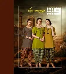 Manmarziya-Libas Rayon With Print Dhoti Style Tradition Collection