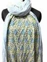Vinayak Handicraft Hand Block Printed Cotton Paisley Print Stole Indian Soft Cotton Dupatta