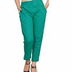 Jade Vine Rayon Ladies Ankle Length Pant