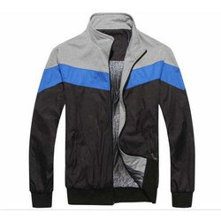 Black And Grey L And XL Zip Polyester Jackets