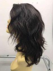 Black Lace Side Wig