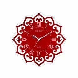 Scientific Designer Wooden Glass Clock, SG-031