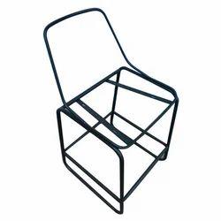 30.75 Inch Black Iron Chair Frame