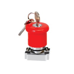 Mushroom Head Key Lockable Actuator