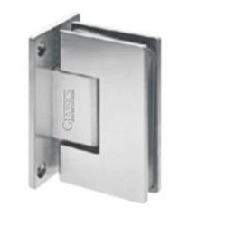 SS 90 Degree Wall to Glass Hinge