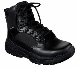 SKECHERS SAFETY SHOES 77533 Blk Markan