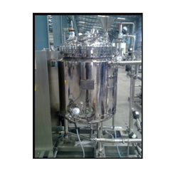 Stainless Steel Sterile Manufacturing Vessel, Capacity: 20-100 L, Max Design Pressure: 0-10 Bar