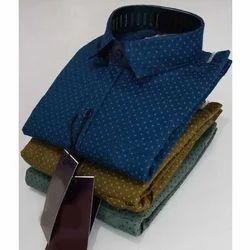Casual Wear Men Collar Printed Shirt