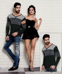 Men's Full Sleeve Kurtha T-shirts