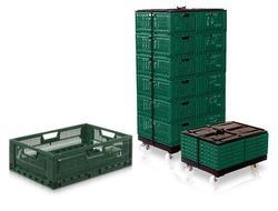 Foldable Perforated Wall Crates