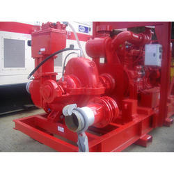 Vacuum assisted Double Stage Split Case Pump