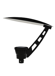 LED Post Top Light With Pole