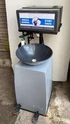 Portable Foot Operated Hand Wash Basin Station