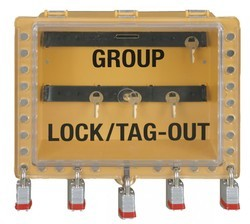 Lockout Boxes And Key