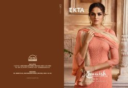 Ekta Khwaish Vol-25 Series 2501-2508 Stylish Party Wear Chiffon Suit