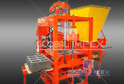 Stationery Type Bricks Manufacturing Machine