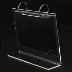 Acrylic Calendar Cum Photo Frame Stand