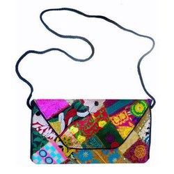 Handmade Cotton Banjara Clutch Bag