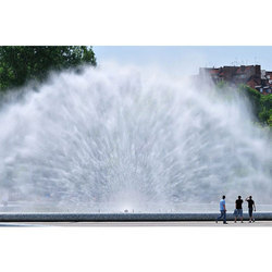 Water Screen Fountain