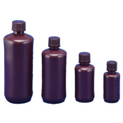 Narrow Mouth Bottle HDPE Amber
