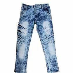 Casual Wear Fancy Kids Denim Jeans